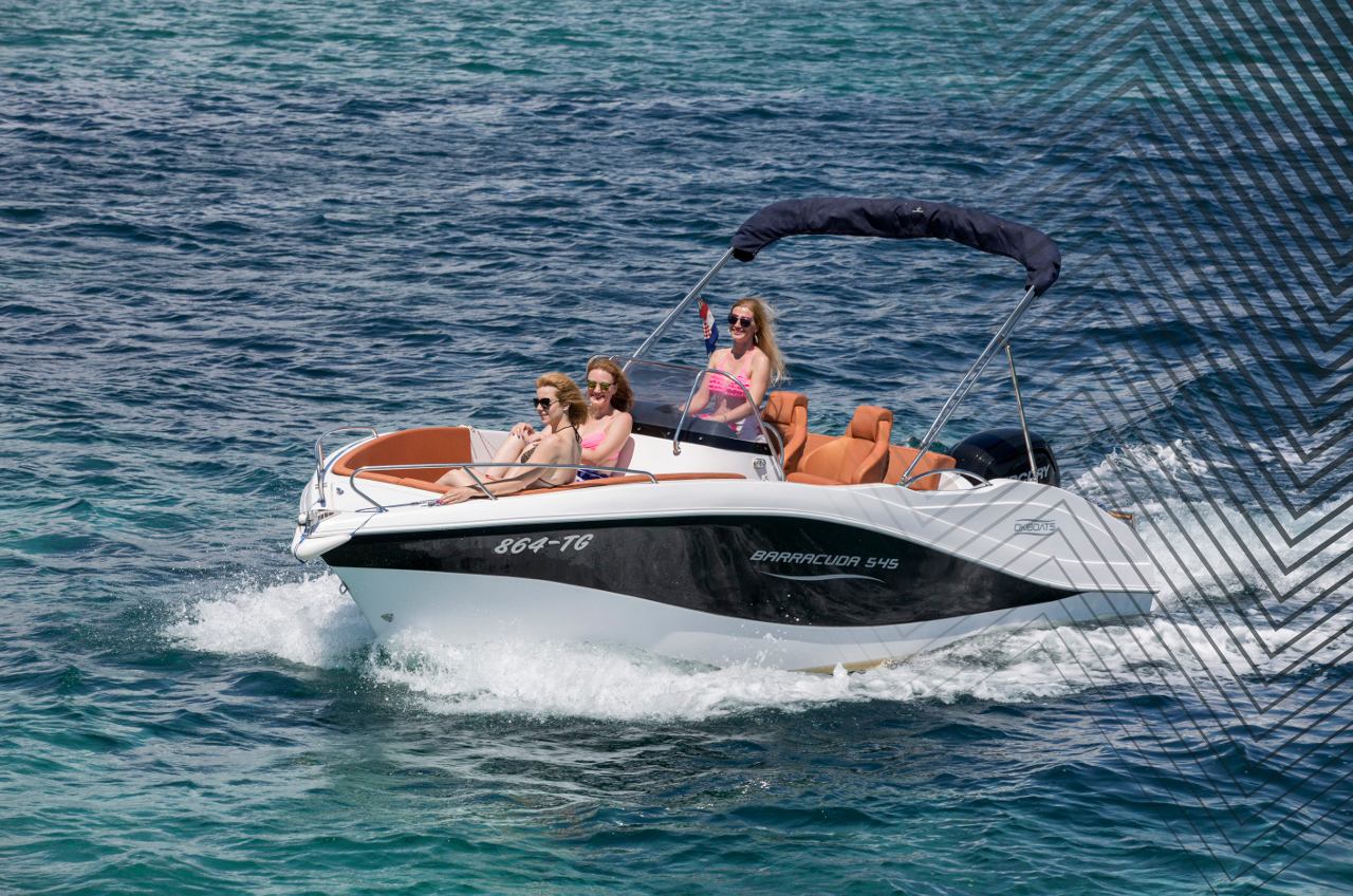 Rent a boat Insel Krk, Baska - Barracuda 545